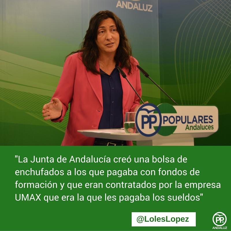 Resultado de imagen de fondos de formación junta de andalucia y corrupción